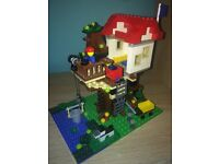 LEGO Creator 3 in 1 Treehouse adventures 31053 WITH INSTRUCTIONS in great condition
