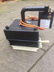 Blacksmiths farrier gas forge