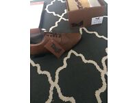 New Brown brogues size 8