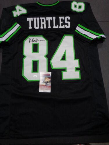 Kevin Eastman Teenage Mutant Ninja Turtles Creator Autographed Style Jersey JSA
