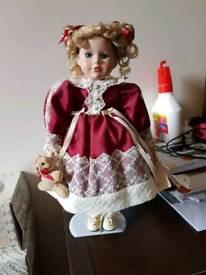 Alberon porcelain doll