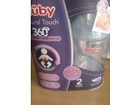Nuby 2bottles (brand new)