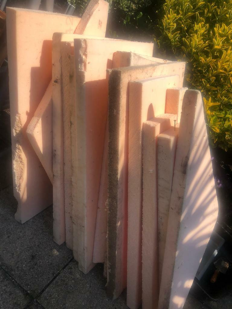 Insulation off cuts free (50mm space board)