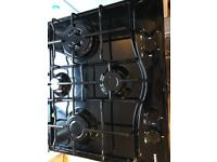 Hotpoint Black Gas Hob New and Unused rrp £171