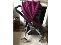 Stokke Scoot Purple Very good condition