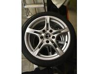 "Porsche Cayman S Winter Tyres (18"" Cayman SII Pirelli Sottozero)"