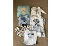Baby Boys clothing 0-3mbundle