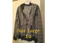 Strippy fleece £0.75