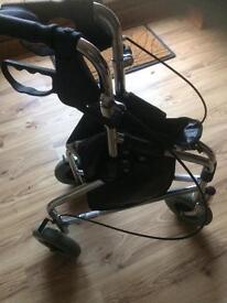 Three wheel walker