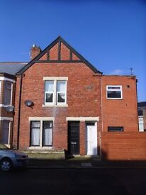 2-Bedroom, recently refurbished, part-furnished, 1st floor flat in South Shields town centre area