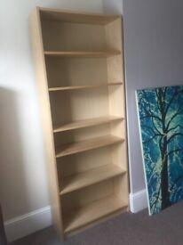 Tall book shelf - modern - great condition