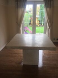 Fibreglass Stone Effect Table no Chairs
