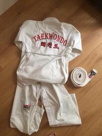 Suit of taekwondo kids