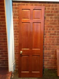 Internal 6 panels SOLID doors x 3 (Reduced to clear)