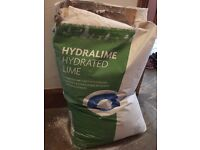 URGENT!! HYDRATED LIME bag 25kg just opened so still fresh