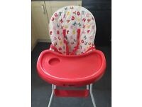 Highchair only used at grandmothers