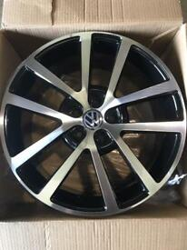"Brand new set of 18"" Alloy wheels Vw Audi ."