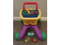 Fisher Price Laugh & Learn Shop and Learn Walker
