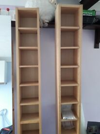 CD and DVD Racks Ikea and Habitat in Good Condition