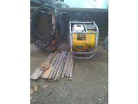 Honda hydraulic pack and jackhammer
