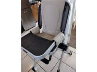 Concord Spin highchair baby toddler chair compact travel