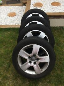 Audi Winter Tyres with Wheels