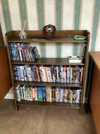 Bookcase - mahogany stained