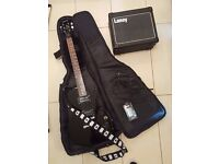Epiphone Les Paul Special II electric guitar and amp