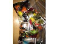 35 flies bulk bags fly fishing