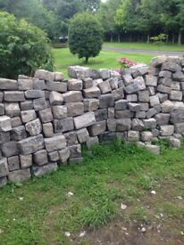 Reclaimed old cobblestones (whin) cam deliver