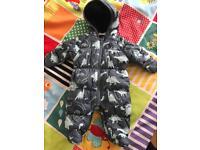 Next baby dinosaur snowsuit
