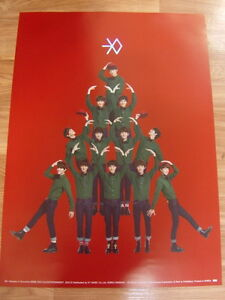 EXO-MIRACLES-IN-DECEMBER-CHINESE-VER-ORIGINAL-POSTER-NEW-EXO-K-EXO-M