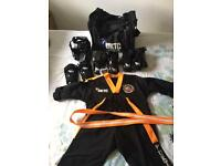 Taekwon do full kit for 5 to 8