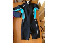 Boy or girl shorty wetsuit by Tribord