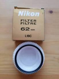 Nikon 62mm L1BC Skylight filter