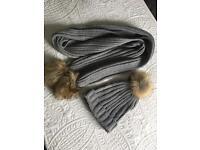 Missguided pom Pom hat scarf set new £10
