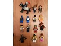 Lego figures assorted.