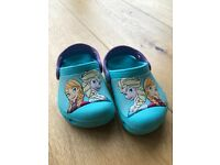 Toddler Elsa Crocs