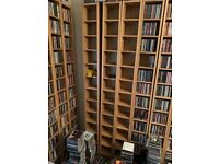 CD storage units (Oak) (Benno)
