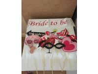 Hen night party bundle rose gold sashes