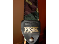 Like new PRS camouflage guitar strap (Paul Reed Smith)