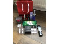 Beauty bag with goodies