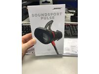 Bose Sound Sport Pulse Wireless In-ear Headphones - Red