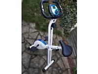 Davina fold up exercise bike