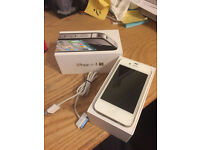 iPhone 4s - White, Like New, in perfect condition and working order 8GB - Unlocked to Any Network