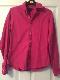 Pink Raulph Lauren shirt