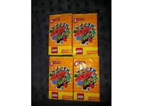 50 packs Unopened Lego cards. (Packs of 4)