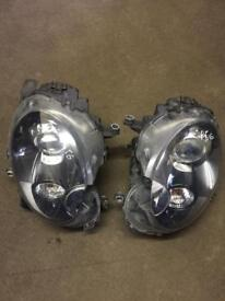 Mini Cooper s r56 bi xenon head light set for sale complete units call for any info