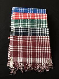 Cotton - LargeTable Cloth - Cover - With Stripes - For Picnic , Dinner , Souper