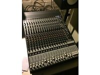 Mackie Onyx 1640 analog mixer w/ firewire. 16 in / 4 out mixing desk / audio interface & soft case